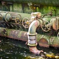 Pumpenwerk einer Wasserkraftanlage