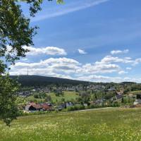 Landschaft um den Ochsenkopf