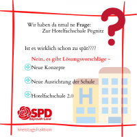 Drei Fragen zur Situation der Hotelfachschule Pegnitz